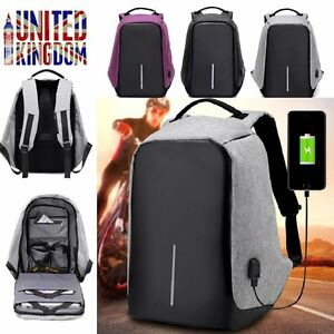 Image Is Loading Anti Theft Mens Womens Laptop Backpack Travel School