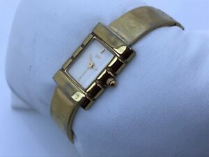 Foce-Ladies-Vintage-Watch-Swiss-Quartz-Analog-Gold-Tone-Wrist-Watch