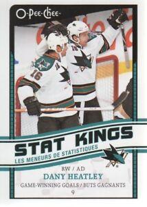 2010-11-O-Pee-Chee-Stat-Kings-SK-8-Dany-Heatley-San-Jose-Sharks