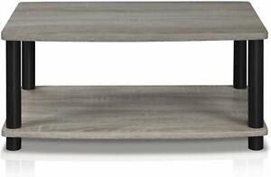 Modern-Grey-Coffee-Table-Wood-End-Side-Shelves-Shelf-Living-Room-Furniture