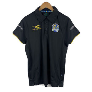 Parramatta-Eels-Mens-Polo-Shirt-Size-Small-Slim-Fit-Short-Sleeve-X-Blades