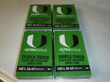 ULTRACYCLE Triple Thick Puncture Thorn Resistant Tube 700x23-25 Schrader 35mm