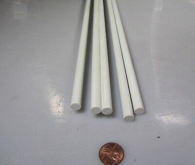 Fiberglass Round Rods .188 Inch Diameter x 60 Inch Length 5 Units