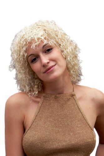 PERÜCKE Kinky Curls Krasse freche Locken blond Kaltwelle 80er Jahre TH38-P02