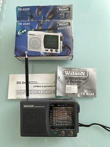 Radio Portatile FM/AM/SW 7 bande WATSON TR 4029