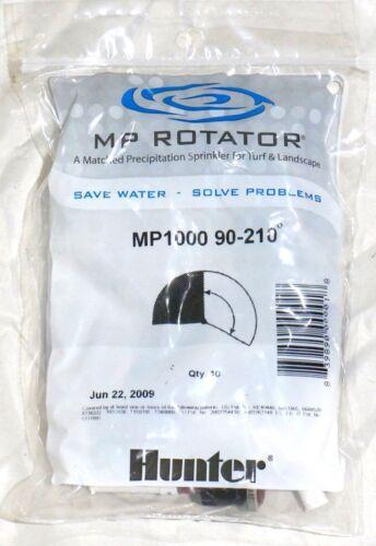 Bag of 10 Hunter MP1000 Rotary Nozzle 90-210 Degree Adjustable Female Thread