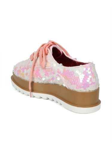 Women/'s Fashion Chic Comfortable Platform Sequin Sneakers Zyra-1 by Cape Robbins
