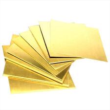 Brass Sheet Plate Thin Metal Panel Cut Tool Model Making 0811522534mm