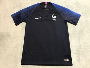 2e7a712db82 Nike FFF France World Cup Stadium Away Soccer Jersey MEN S SMALL S ...