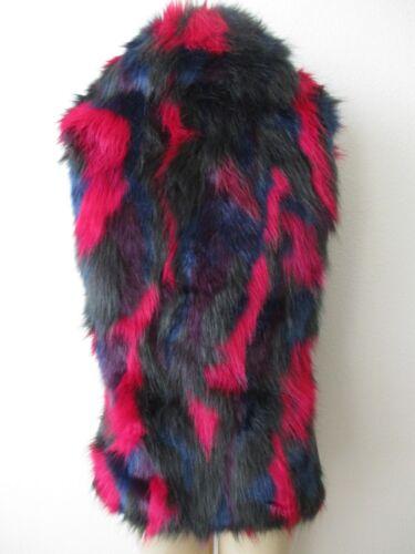 multicolore Landau Nwt manches en Gilet Adrienne S sans fausse fourrure Taille OSTSw