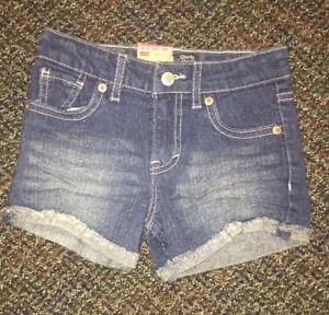 BNWTS Girls Levi's Shorty Short Jean Shorts