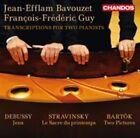 Stravinsky Bavouzet Guy - Transcriptions for Two Pianists CD