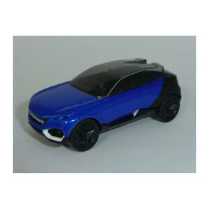 Norev-319000-Peugeot-Concept-car-Quartz-Bleu-Noir-Showroom-Echelle-1-64