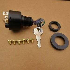 Details about EVINRUDE JOHNSON KEY / IGNITION START SWITCH SIMILAR TO OMC  MOTORS PART# 508180