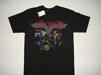 Aerosmith T-shirt S M L Xl 2xl Blues Metal Hard Rock Steven Tyler Joe Perry