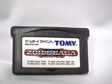 Free Shipping Zoids Saga (Nintendo Game Boy Advance 2001) Japanese Version Japan