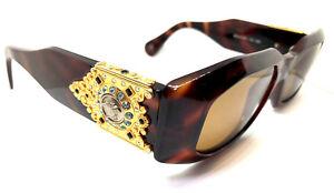 62aad2b922b4 RARE!! Gianni Versace Mod.414/H Col.900 Vintage Sunglasses / Stones ...