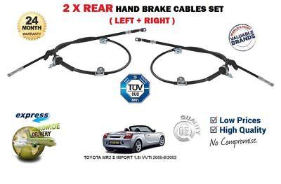 IMPORT 1.8i VVTi 2000-8//2002 LEFT SIDE REAR HAND BRAKE CABLE FOR TOYOTA MR2 S