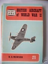 abc Jan Allan 2'6 British Aircraft of World War II