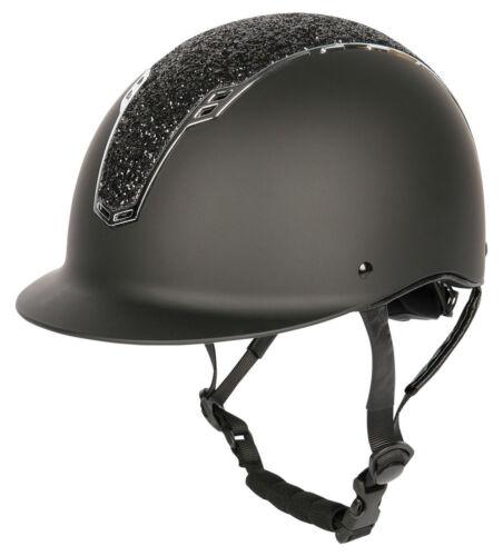 Harry/'s Horse Sicherheits-Reithelm Reitkappe Centaur schwarz-silb CE VG1 01.040