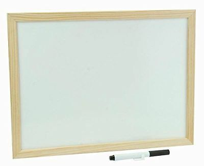 Q-Connect KF03571 Whiteboard Wooden Frame 600x900mm