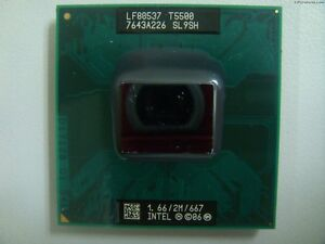 Core SL9SH T5500 Dual CPU Mobile series Intel F3F Asus DUO processore wSxEaFYqC