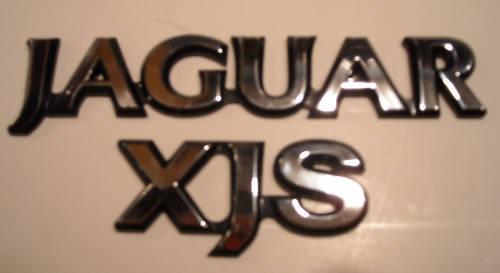 New Jaguar XJS V12 Badge GOLD BEC4717G
