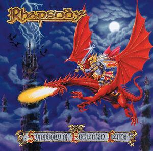 RHAPSODY-Symphony-Of-Enchanted-Lands-CD-1998-Luca-Turilli-Ancient-Bards-Angra