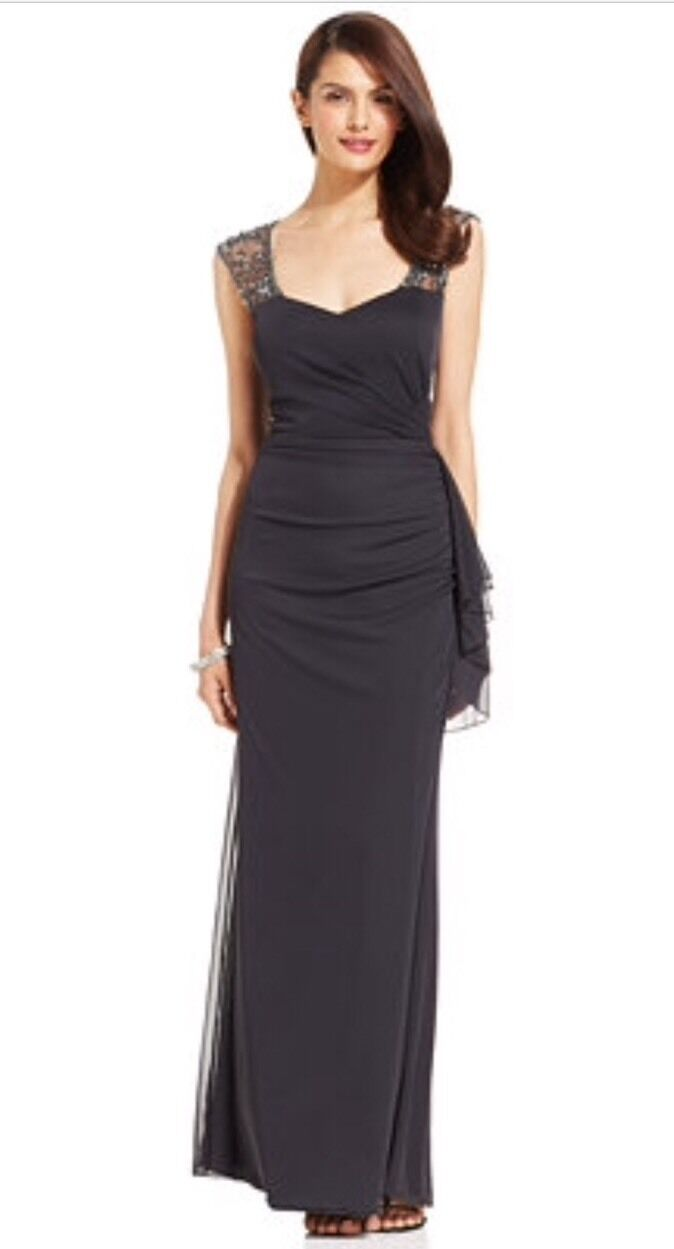PATRA Sweetheart Beaded Dress Gown (8) Nordstroms