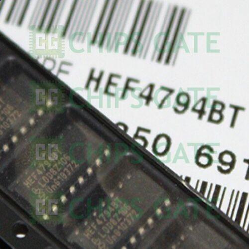 2PCS HEF4794BT,112 IC SHIFT//REGISTER STORE 16-SOIC HEF4794BT 4794 HEF4794
