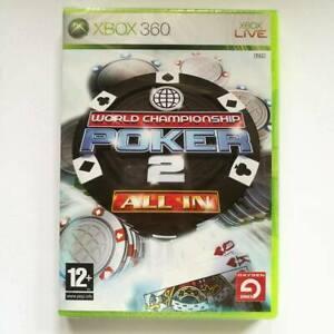 World Championship Poker 2 Alle IN Xbox 360 Neu Versiegelt Pal Eng