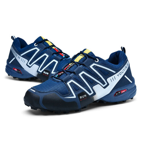 Fashion Men Hiking Shoes Breathable Running Sports Sneakers Athletic Big Size 12