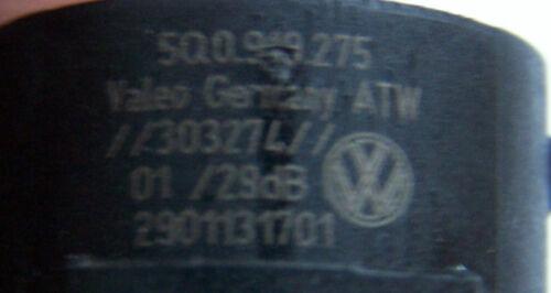 Orig VW Seat Audi Skoda PDC Capteur à Ultrasons Capteur Argent 5q0919275