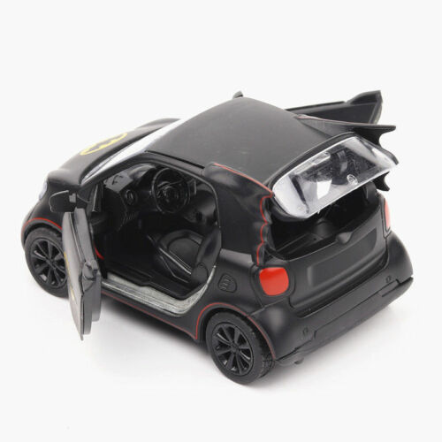 1//36 Scale Smart Car Model Batman Diecast Black Vehicle Toy Kid Gift Collectible