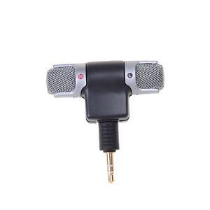 3-5mm-ECM-DS70P-Elektret-Kondensator-drahtloses-Stereomikrofon-fuer-P-YT