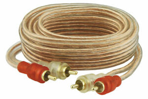 DNA ALR003 3 METER RCA 2X MALE TO MALE CONNECTORS RCA CABLE GOLD PLATED OFC
