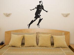 ZLATAN IBRAHIMOVIC Manchester Utd Jugador de fútbol adhesivo pared PSG Kit