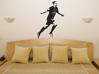 Zlatan Ibrahimovic PSG Wall Decal Vinyl Sticker For Room Bedroom