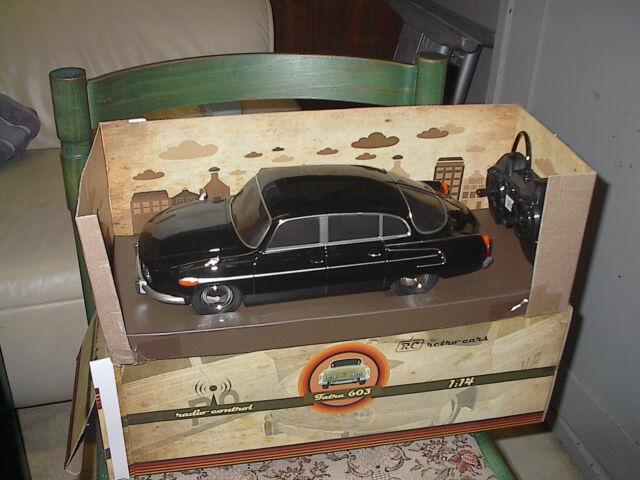 Tatra 603 Schwarz  Ferngesteuert 1:14 Spielzeug NEU OVP Unbenutzt ca.35cm lang