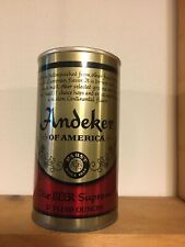 Scarce Andeker TEST Beer 12 oz. Pull Top Beer  Can Pabst Brewing, Milwaukee,WI