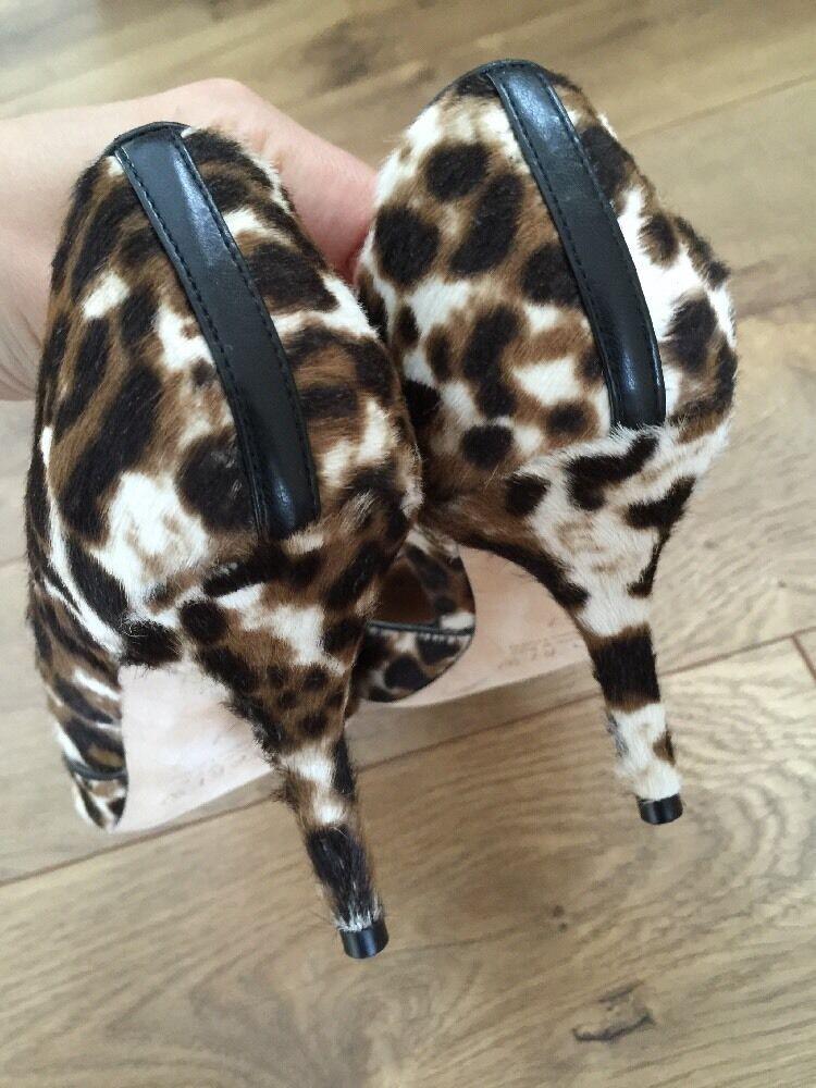 JCrew Collection Colette calfhair dOrsay pumps shoes  378 378 378 sienna black 7 E0776 1ac0e0