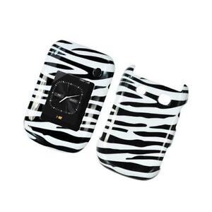 Black-amp-White-Zebra-Design-Snap-On-Hard-Case-Cover-for-Blackberry-Style-9670