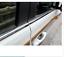 For Steel Chrome Bottom Window Frame Cover Trim Toyota Prado Fj120 2003-2009