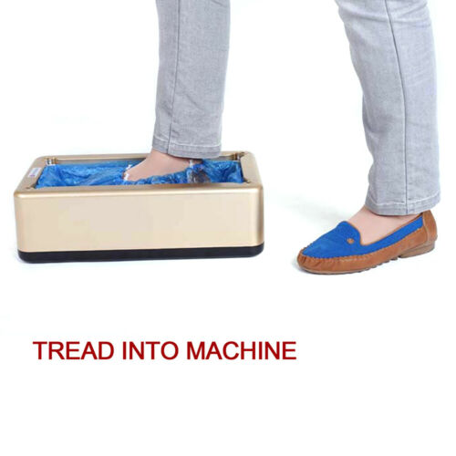 Automatic Shoe Cover Dispenser Machine Home Office Carpet Cleaning Overshoes DHL