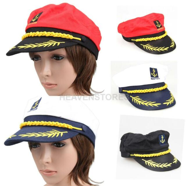 New Fashion Cool Navy Marine Sailor Sea Captain Hat Cap  hv2n