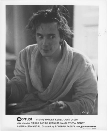 CORRUPT photo JOHNNY ROTTEN/JOHN LYDON original movie lobby publicity still