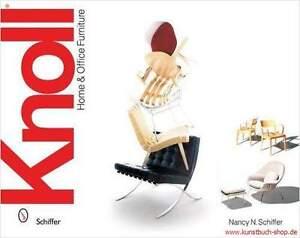 Fachbuch-Knoll-Home-amp-Office-Furniture-M-Breuer-E-Sottsass-M-v-d-Rohe-uva