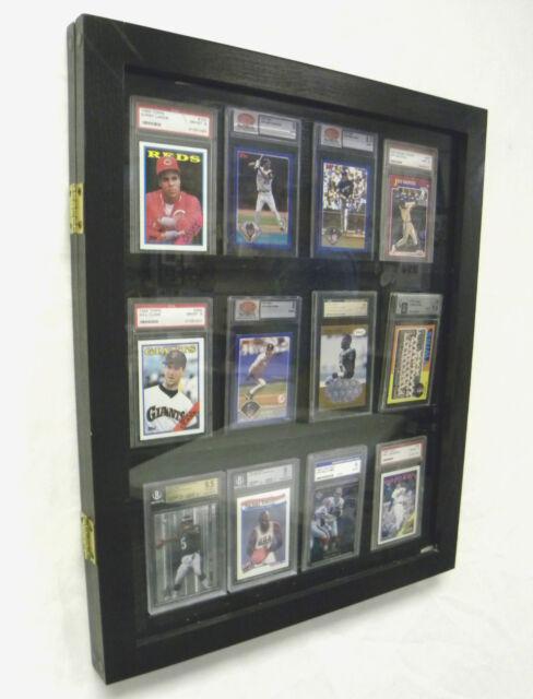 Sports Card Display Case For 12psa Graded Cards For Sale Online Ebay