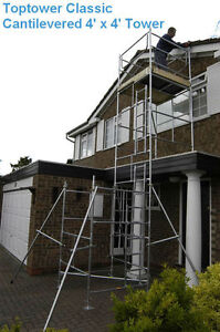 DIY Scaffold Tower 6.45m (WKHT) For Sloping - Flat Roof ...