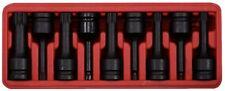 """KS Tools 1/2"""" KRAFT-BIT-STECKNUSS-SATZ 9-TLG  Vielzahn(XZN®) M4-M16 911.0944"""